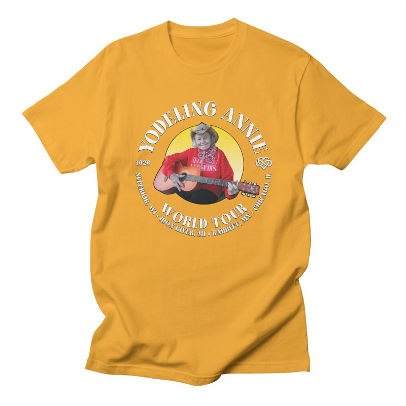 Yodeling Annie World Tour Women's Regular Unisex T-Shirt by Brian Harms