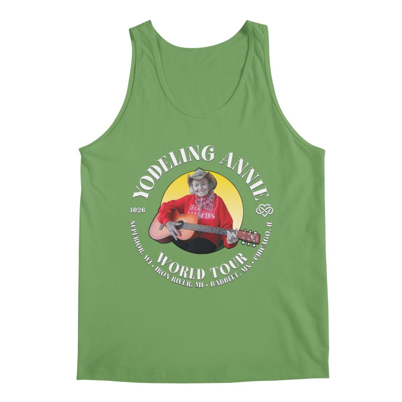 Yodeling Annie World Tour Men's Tank by Brian Harms