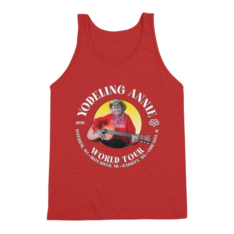 Yodeling Annie World Tour Men's Triblend Tank by Brian Harms