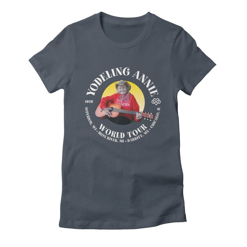 Yodeling Annie World Tour Women's T-Shirt by Brian Harms