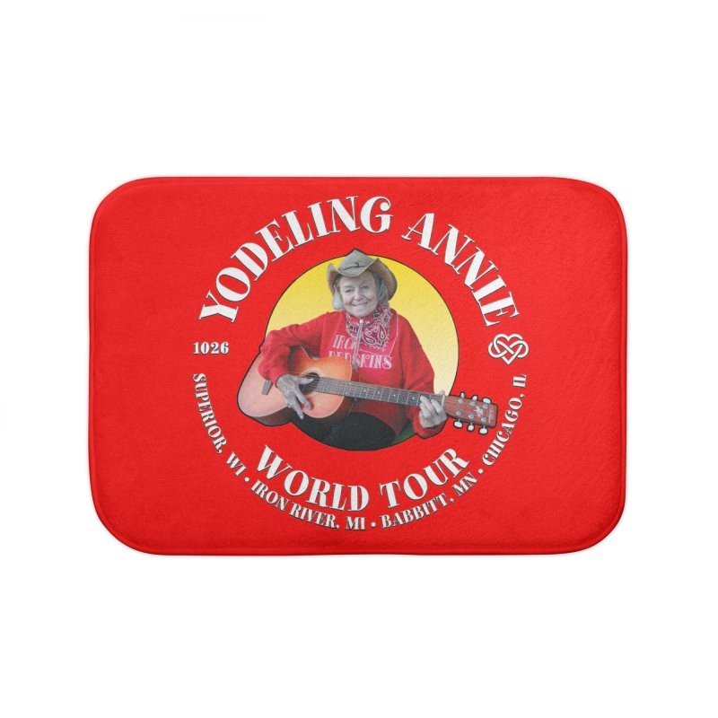 Yodeling Annie World Tour Home Bath Mat by Brian Harms