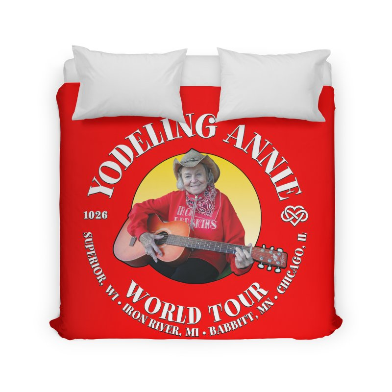 Yodeling Annie World Tour Home Duvet by Brian Harms