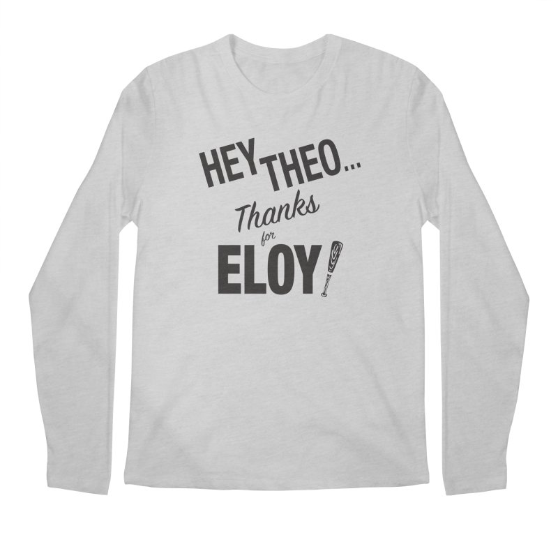 Thanks for Eloy 02 • Men's • black logo Men's Longsleeve T-Shirt by Brian Harms