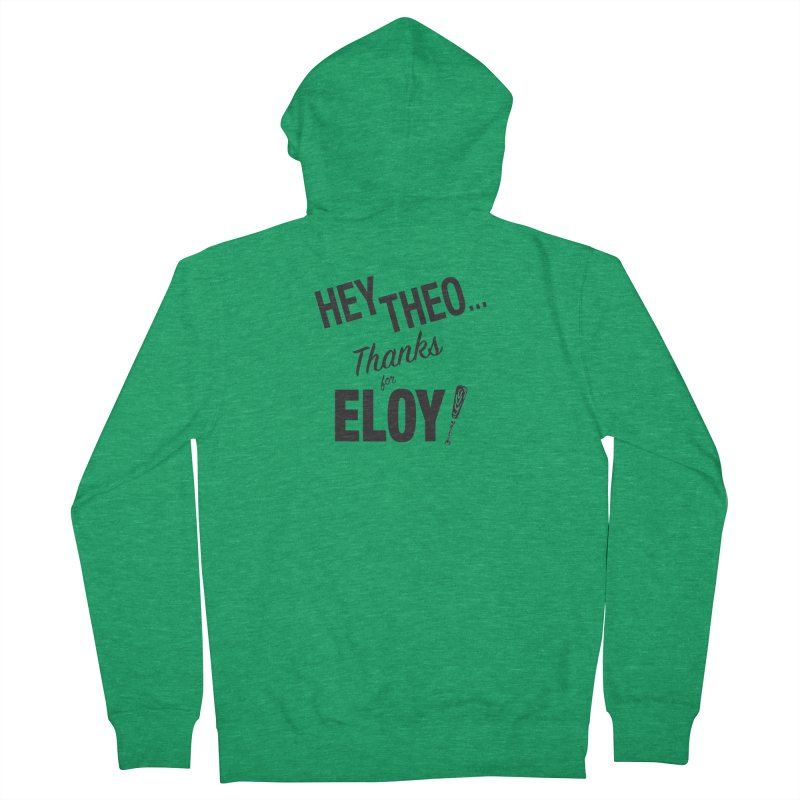 Thanks for Eloy! 02 • Women's • black logo Women's Zip-Up Hoody by Brian Harms