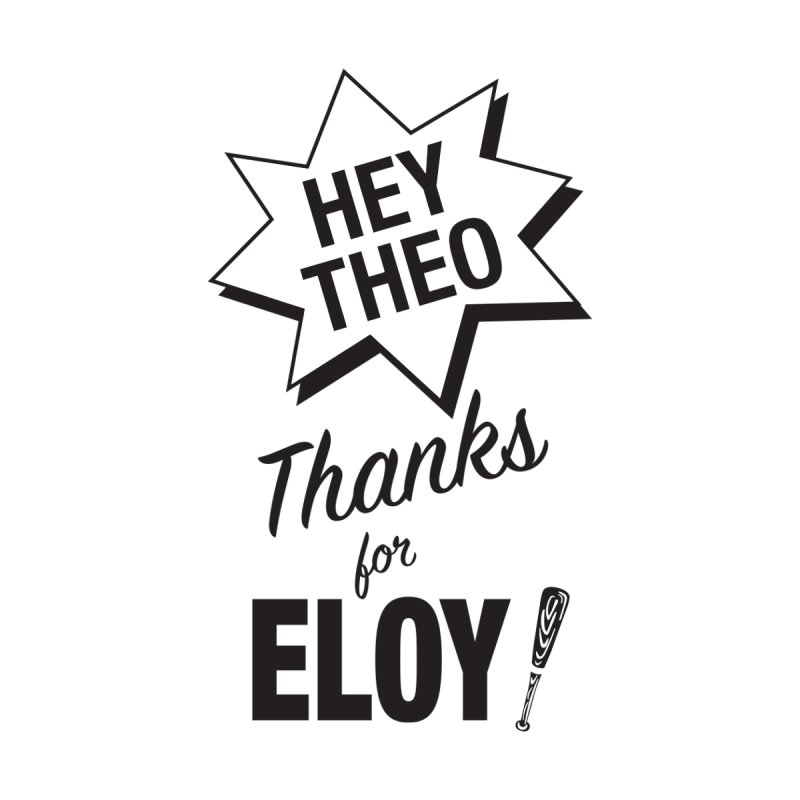 Thanks for Eloy! 03 • Men's • black logo Men's Longsleeve T-Shirt by Brian Harms