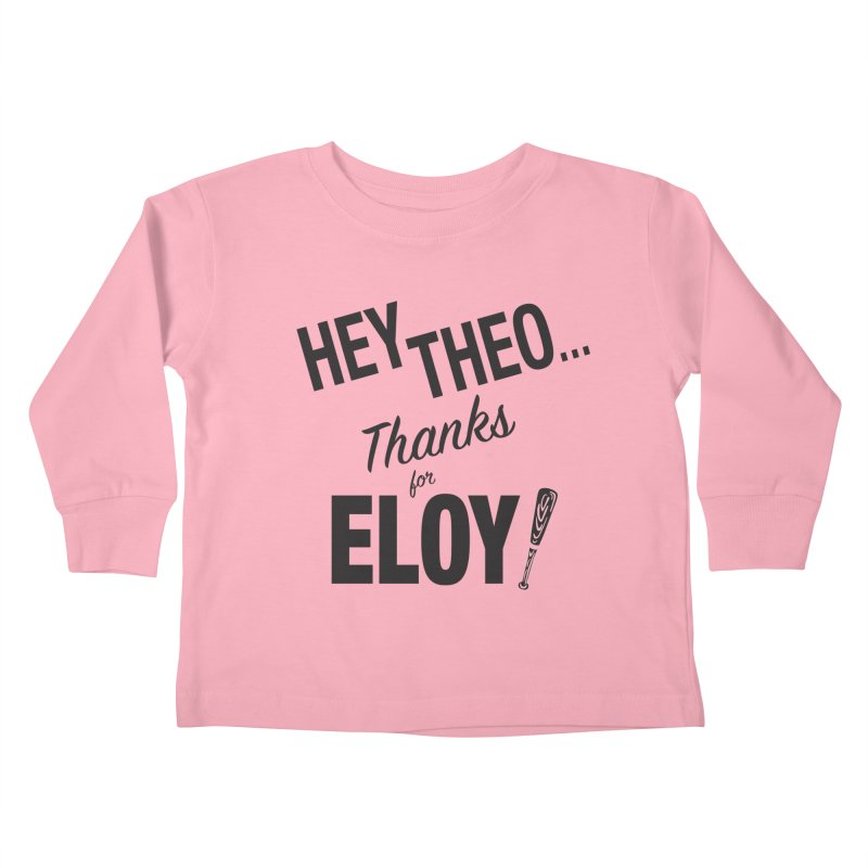 Thanks for Eloy! 02 • Kid's • black logo Kids Toddler Longsleeve T-Shirt by Brian Harms