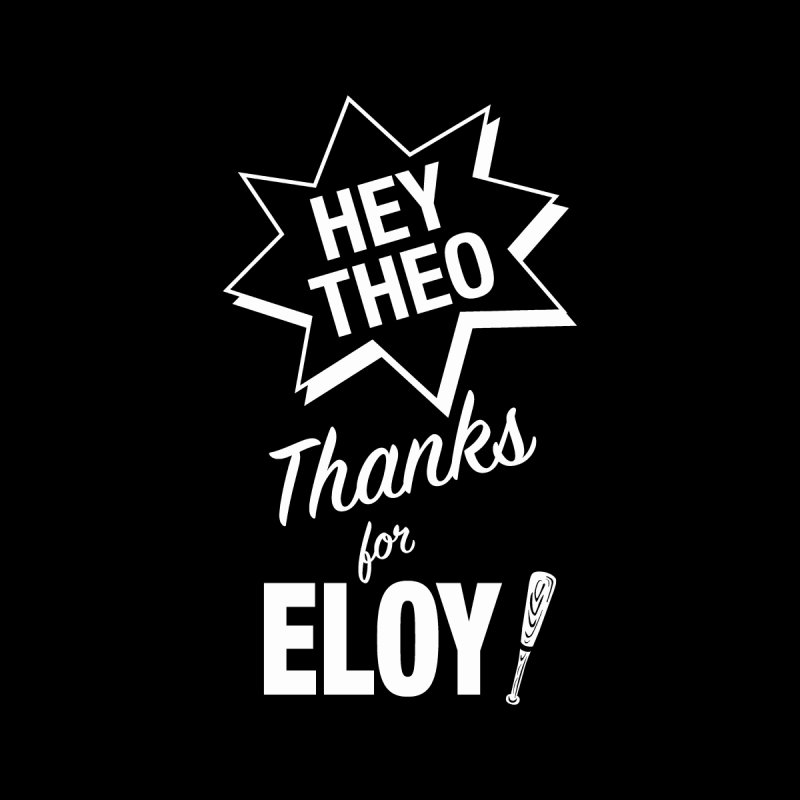 Thanks for Eloy! 03 • Kid's • white logo Kids T-Shirt by Brian Harms
