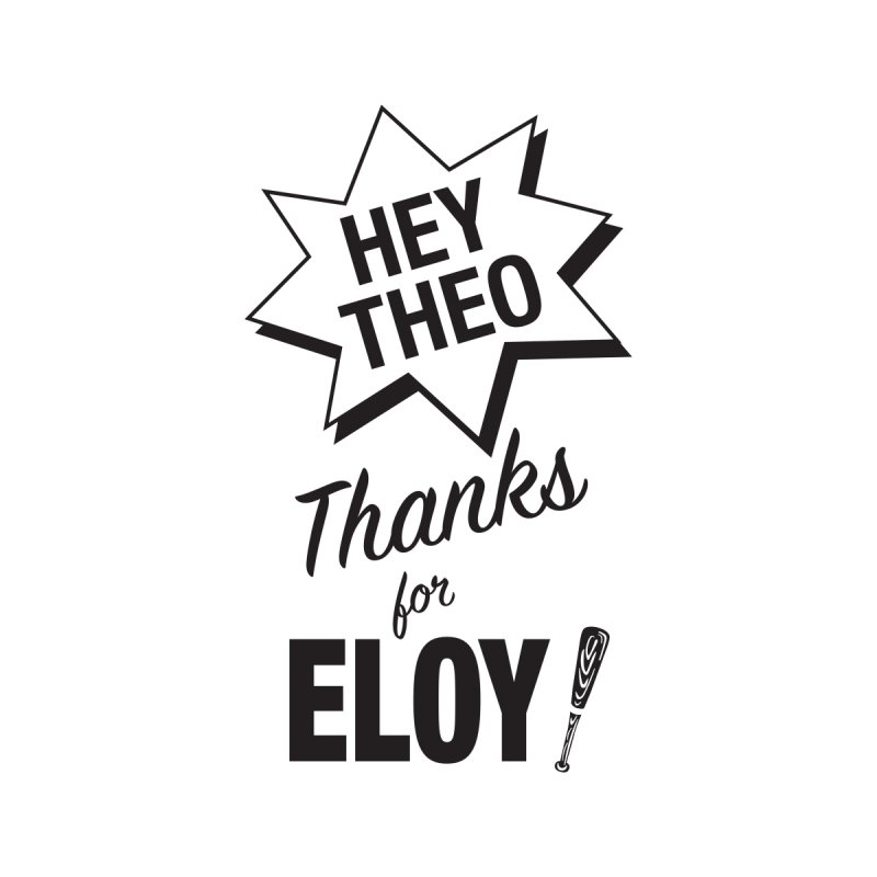 Thanks for Eloy! 03 • Kid's • black logo Kids Toddler Zip-Up Hoody by Brian Harms