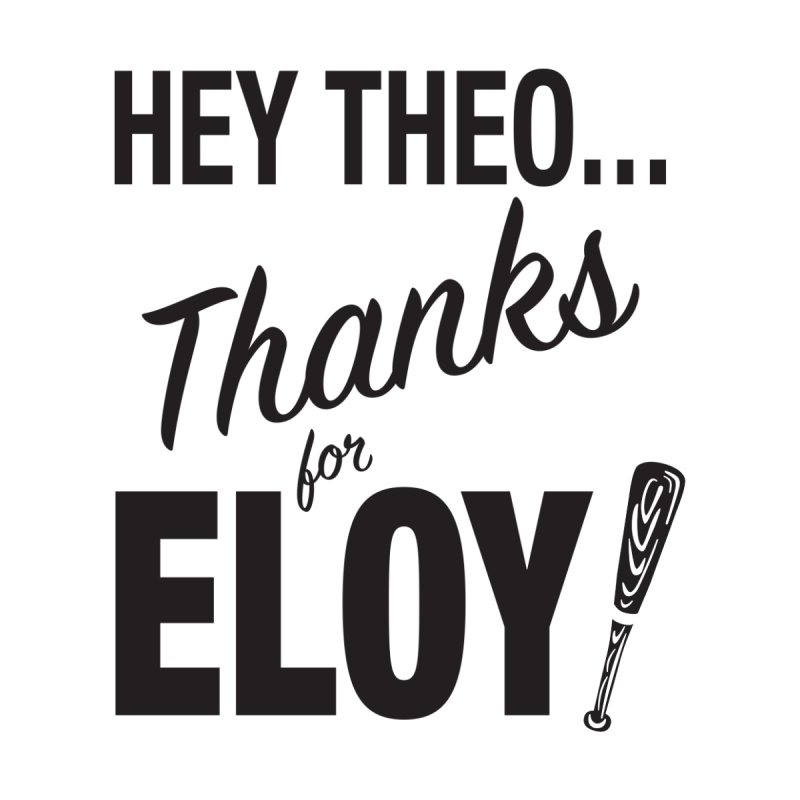 Thanks for Eloy! 01 • Men's • black logo Men's Sweatshirt by Brian Harms