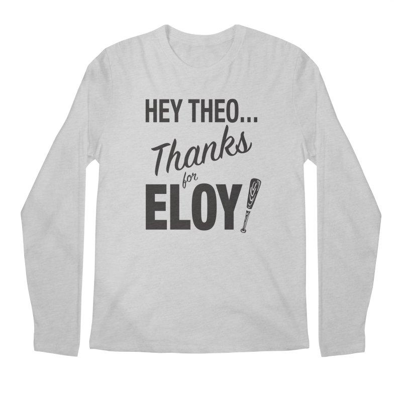 Thanks for Eloy! 01 • Men's • black logo Men's Longsleeve T-Shirt by Brian Harms