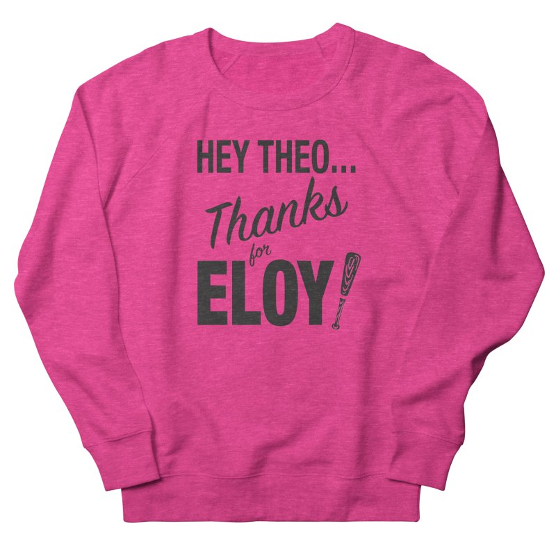 Thanks for Eloy! 01 • Men's • black logo Men's Sweatshirt by Brian Harms