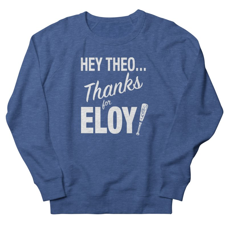 Thanks for Eloy! 01 • Men's • white logo Men's Sweatshirt by Brian Harms