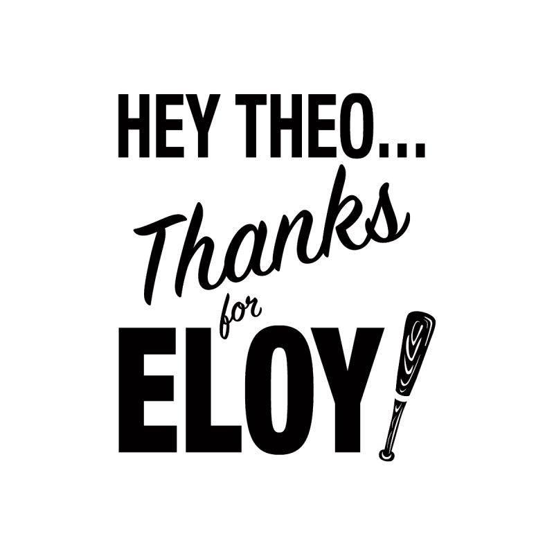 Thanks for Eloy! 01 • Women's • black logo Women's V-Neck by Brian Harms