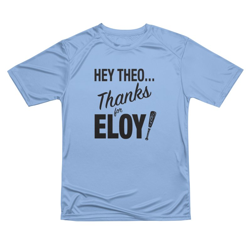 Thanks for Eloy! 01 • Women's • black logo Women's T-Shirt by Brian Harms