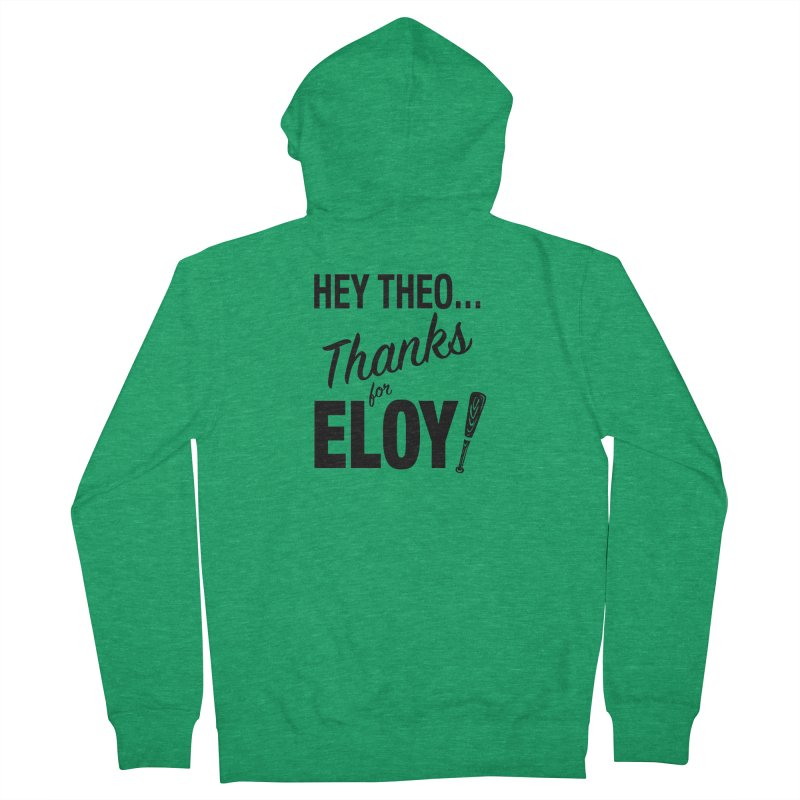 Thanks for Eloy! 01 • Women's • black logo Women's Zip-Up Hoody by Brian Harms