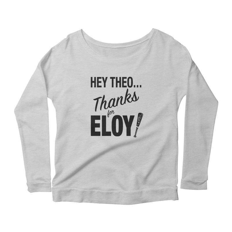 Thanks for Eloy! 01 • Women's • black logo Women's Longsleeve T-Shirt by Brian Harms