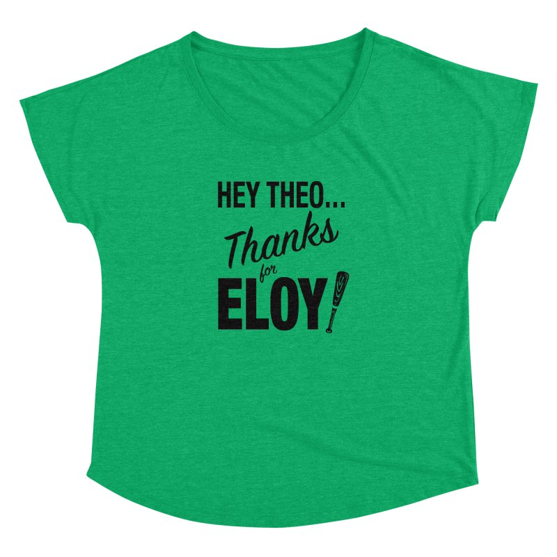 Thanks for Eloy! 01 • Women's • black logo Women's Scoop Neck by Brian Harms