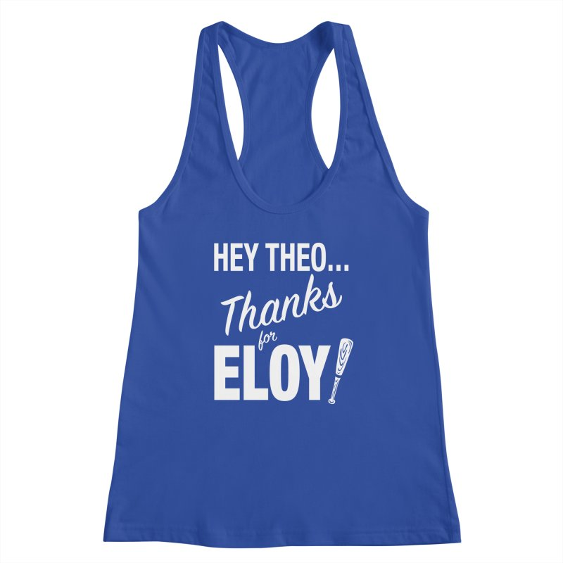 Thanks for Eloy! 01 • Women's • white logo Women's Tank by Brian Harms