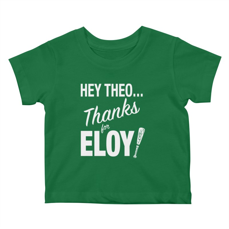 Thanks for Eloy! 01 • Kid's • white logo Kids Baby T-Shirt by Brian Harms