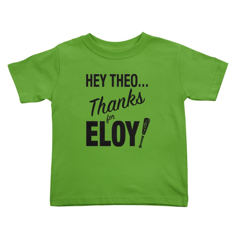 Thanks for Eloy! 01 • Kid's • black logo Kids Toddler T-Shirt by Brian Harms