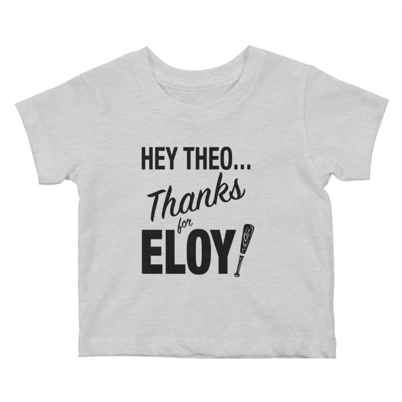 Thanks for Eloy! 01 • Kid's • black logo Kids Baby T-Shirt by Brian Harms