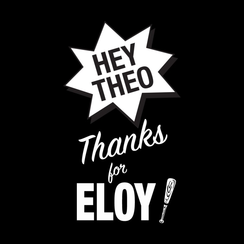 Thanks for Eloy! 03 • Women's • white logo Women's T-Shirt by Brian Harms