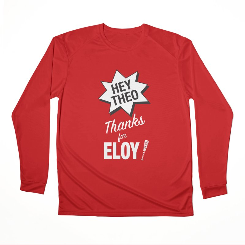 Thanks for Eloy! 03 • Women's • white logo Women's Longsleeve T-Shirt by Brian Harms