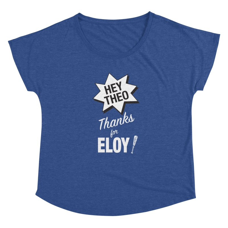 Thanks for Eloy! 03 • Women's • white logo Women's Scoop Neck by Brian Harms