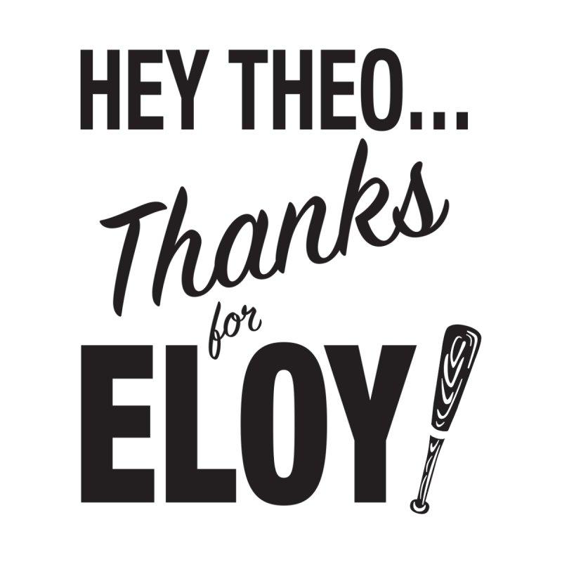 Thanks for Eloy! 01 • Men's • Baseball black Men's Longsleeve T-Shirt by Brian Harms