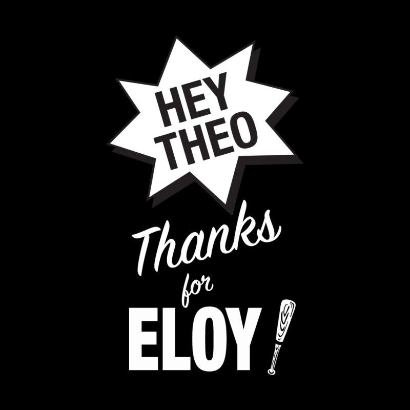 Thanks for Eloy! 03 • Women's • Baseball white Women's Longsleeve T-Shirt by Brian Harms