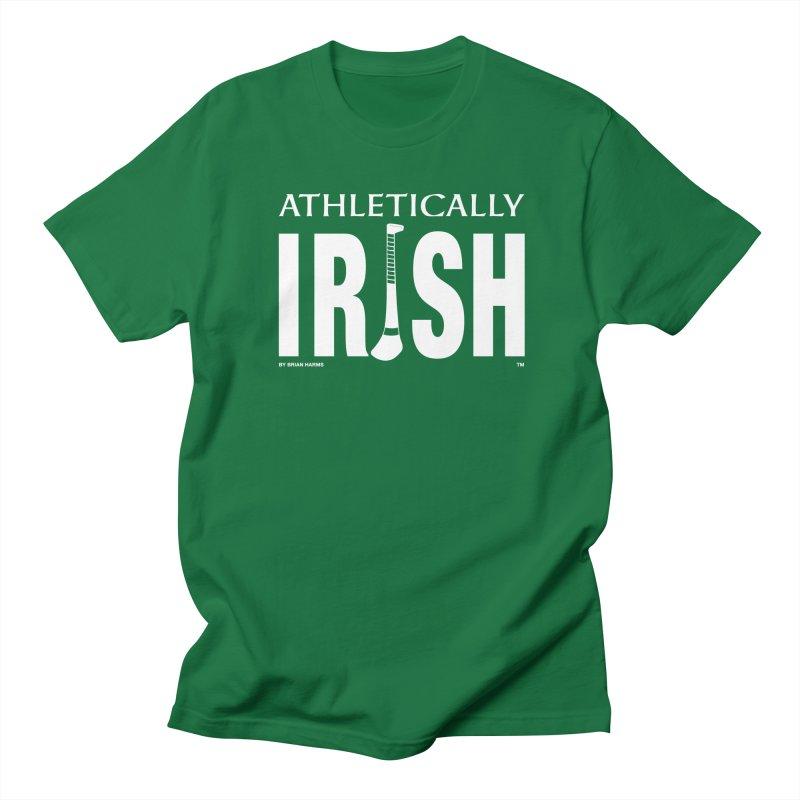 Athletically Irish in Men's Regular T-Shirt Kelly Green by Brian Harms