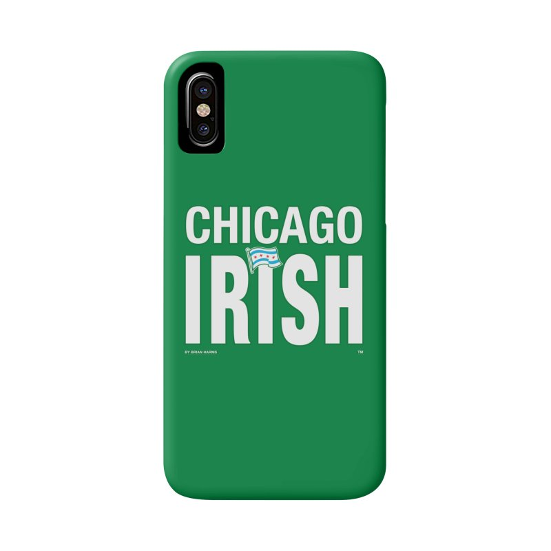 Chicago Irish with Flag Accessories Phone Case by Brian Harms