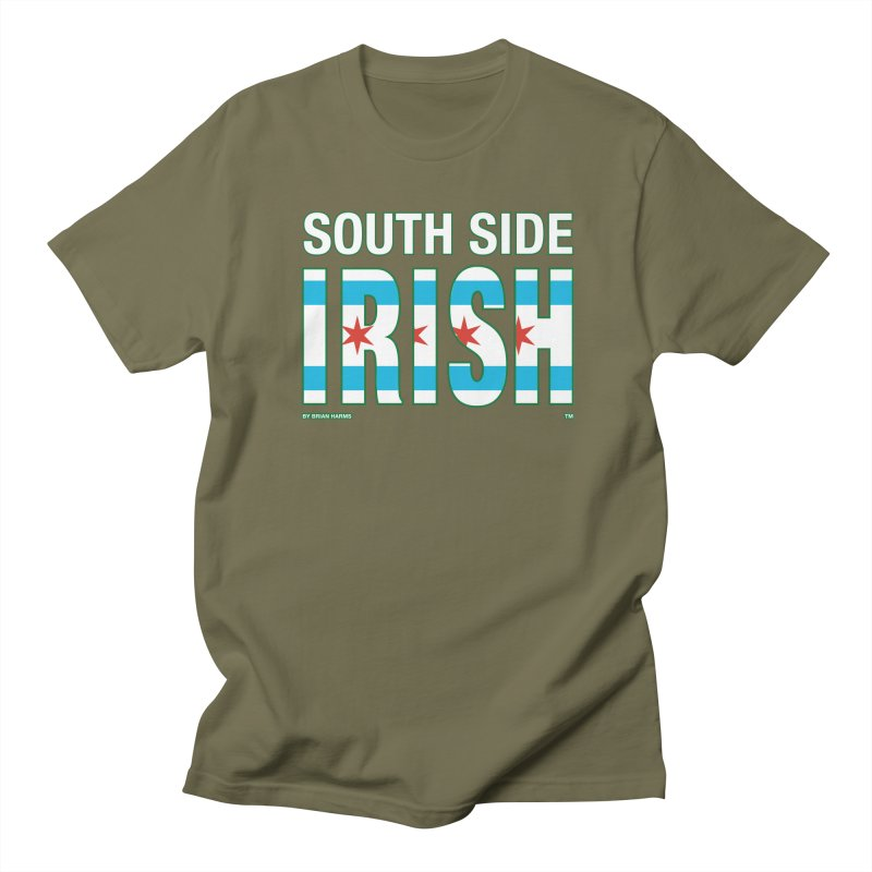 South Side Irish 2 Men's T-Shirt by Brian Harms