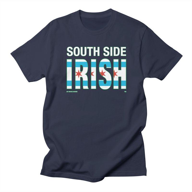 South Side Irish 2 Men's T-Shirt by Brian Harms