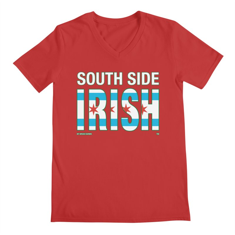 South Side Irish 2 Men's V-Neck by Brian Harms