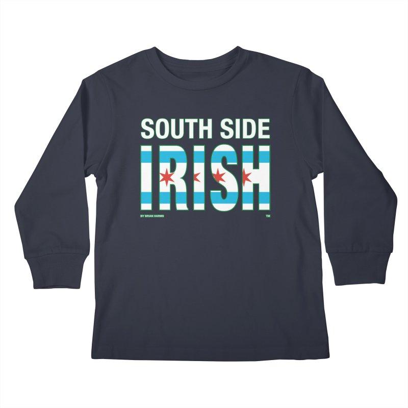 South Side Irish 2 Kids Longsleeve T-Shirt by Brian Harms