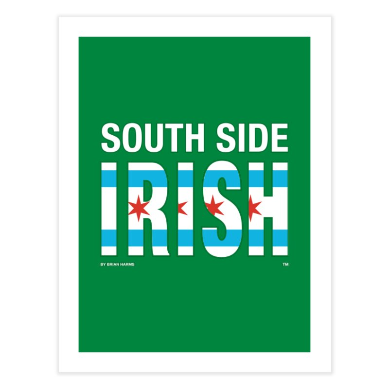 South Side Irish 2 Home Fine Art Print by Brian Harms