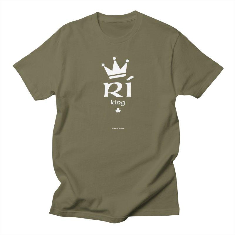 Irish Language King Men's T-Shirt by Brian Harms