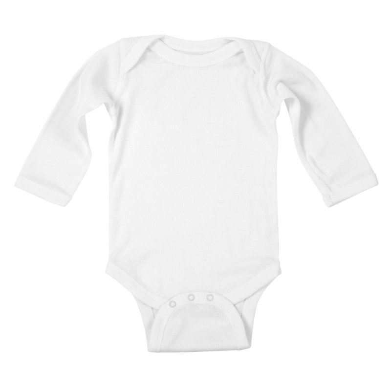 Bear Paws White Kids Baby Longsleeve Bodysuit by Brian Harms