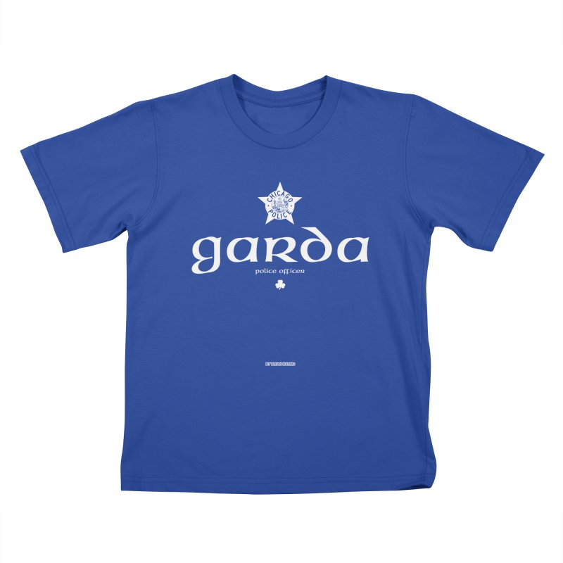 Irish Police Chicago Kids T-Shirt by Brian Harms