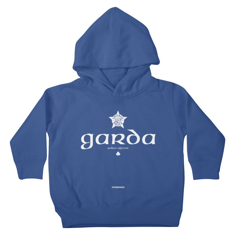 Irish Police Chicago Kids Toddler Pullover Hoody by Brian Harms
