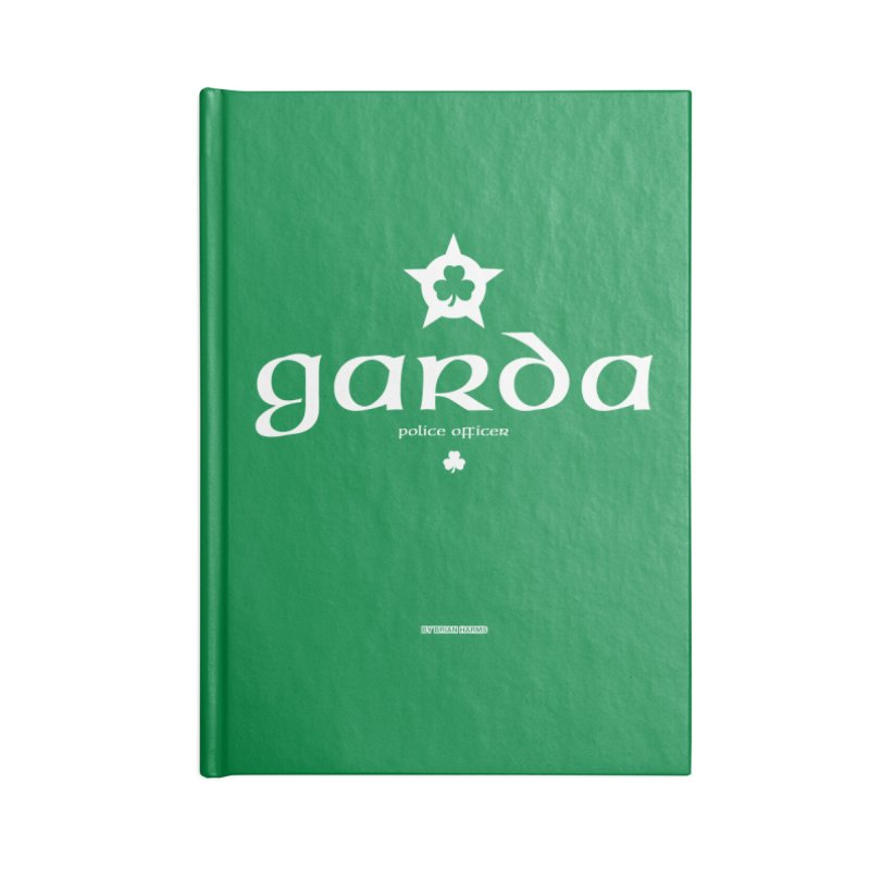 Irish Police Accessories Notebook by Brian Harms