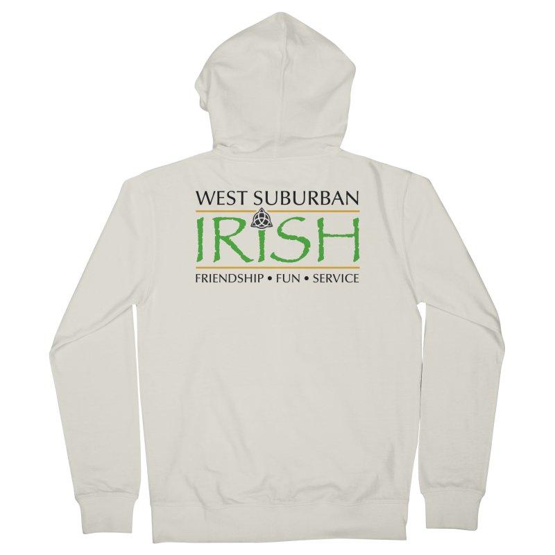 Irish - West Suburban Irish 1 Women's French Terry Zip-Up Hoody by Brian Harms