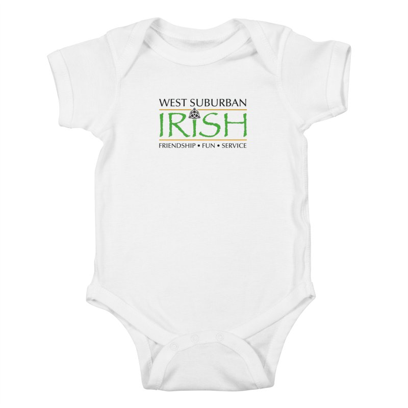 Irish - West Suburban Irish 1 Kids Baby Bodysuit by Brian Harms