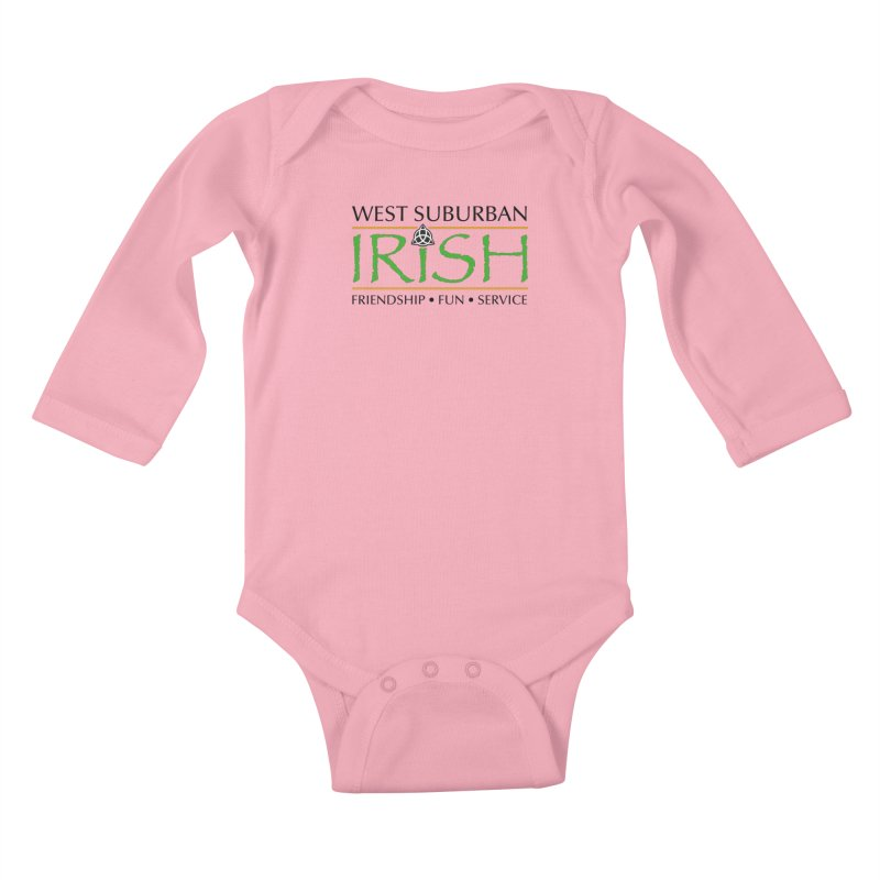 Irish - West Suburban Irish 1 Kids Baby Longsleeve Bodysuit by Brian Harms