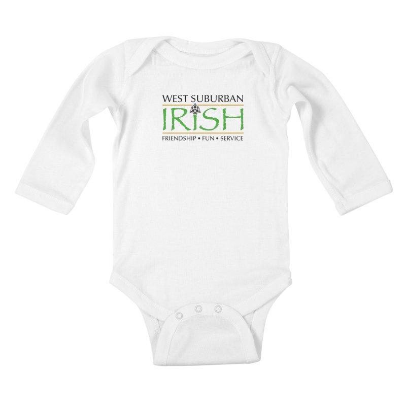 Irish - West Suburban Irish 1 Kids Baby Longsleeve Bodysuit by Brian Harms