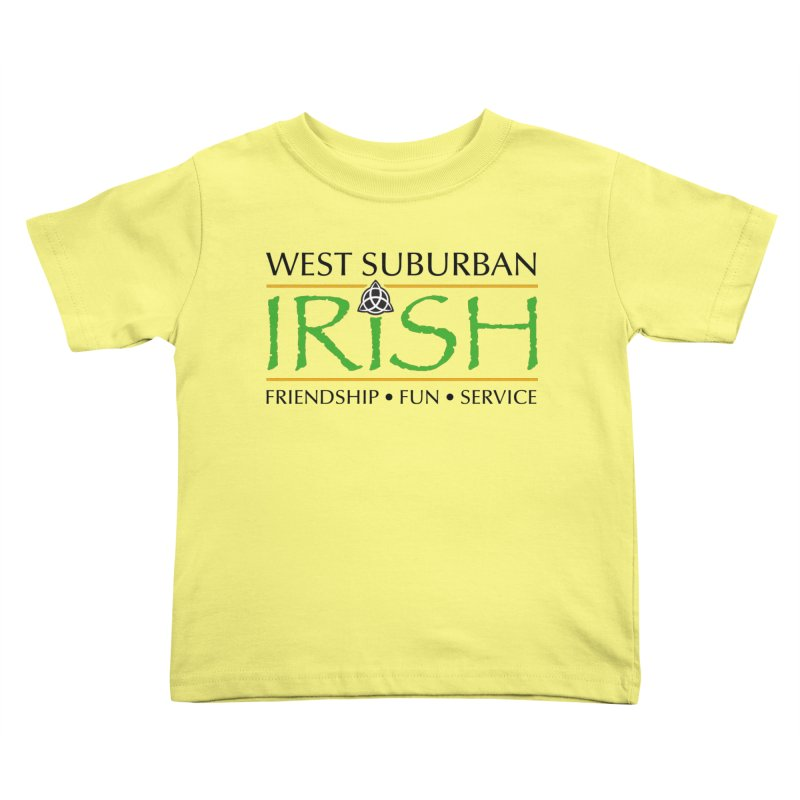 Irish - West Suburban Irish 1 Kids Toddler T-Shirt by Brian Harms