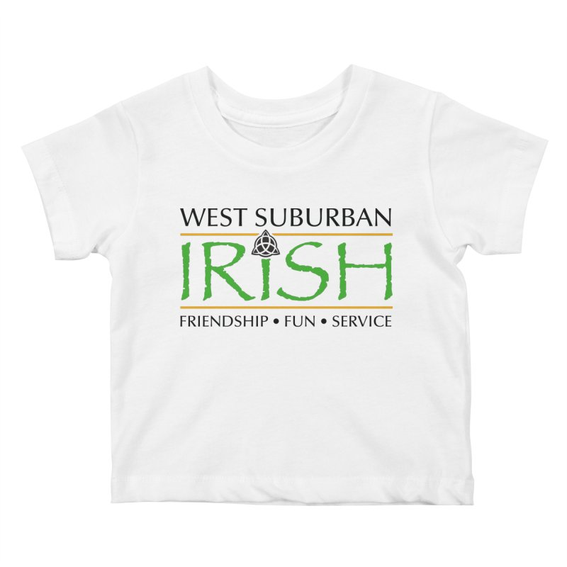 Irish - West Suburban Irish 1 Kids Baby T-Shirt by Brian Harms