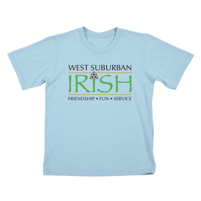 Irish - West Suburban Irish 1 Kids T-Shirt by Brian Harms