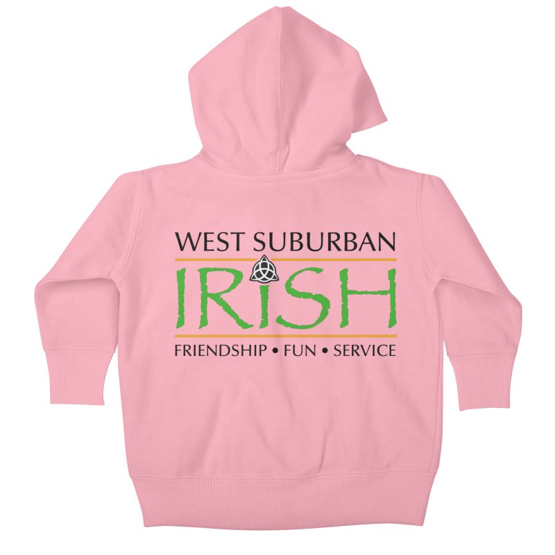 Irish - West Suburban Irish 1 Kids Baby Zip-Up Hoody by Brian Harms